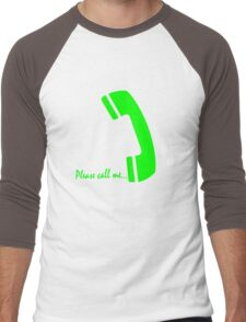 please call me Men's Baseball ¾ T-Shirt