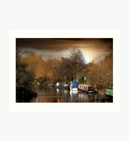 River Nene, March, Cambridgeshire Art Print