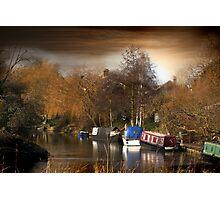 River Nene, March, Cambridgeshire Photographic Print
