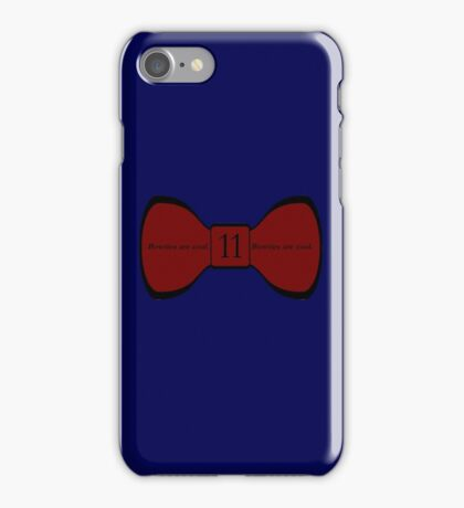 We Love the Bowties. iPhone Case/Skin