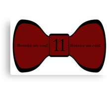 We Love the Bowties. Canvas Print