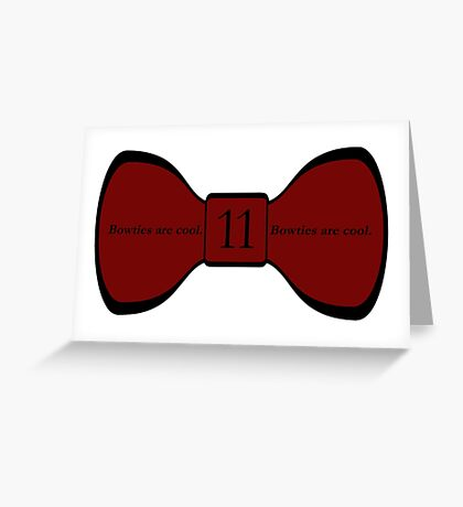 We Love the Bowties. Greeting Card