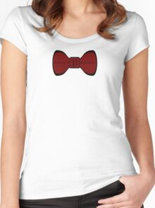We Love the Bowties. Women's Fitted Scoop T-Shirt
