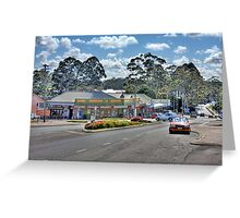 Denmark Town Centre, Western Australia Greeting Card