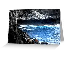 north head manly - time Greeting Card