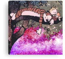 Calvin and Hobbes Sleep Canvas Print