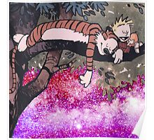 Calvin and Hobbes Sleep Poster
