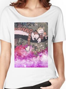 Calvin and Hobbes Sleep Women's Relaxed Fit T-Shirt