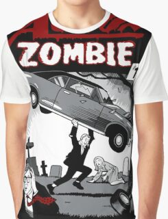 Action Zombie #1 Graphic T-Shirt