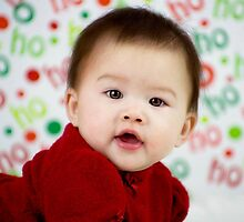 Baby's first Christmas by trwphotography