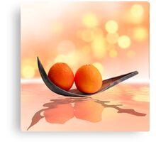 Orangenzauber Canvas Print