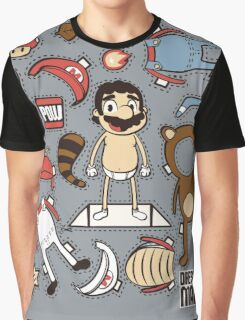 Dress up Mario Graphic T-Shirt