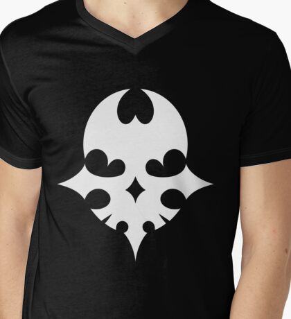 The world ends with you [Master Pin] White version Mens V-Neck T-Shirt