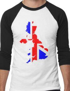 United Kingdom Men's Baseball ¾ T-Shirt