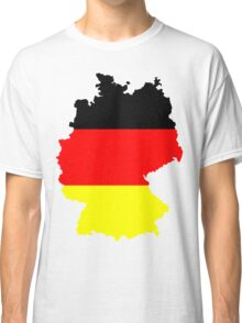 Germany Flag and Map Classic T-Shirt