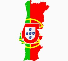 Portugal Flag and Map T-Shirt