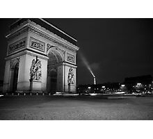 Paris Arc de Triomphe Photographic Print