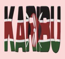 Karibu - Kenya flag One Piece - Short Sleeve
