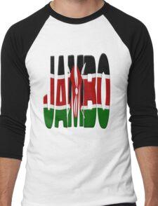 Jambo - Kenya flag Men's Baseball ¾ T-Shirt