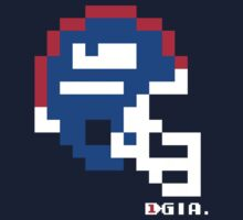 Tecmo Bowl - New York Giants - 8-bit - Mini Helmet shirt by QB Bills