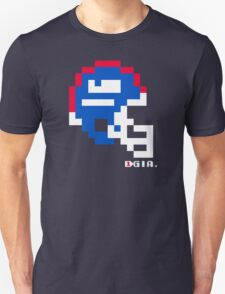Tecmo Bowl - New York Giants - 8-bit - Mini Helmet shirt T-Shirt