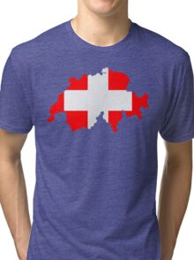 Switzerland Tri-blend T-Shirt