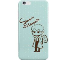 Sherlock Angel iPhone Case/Skin