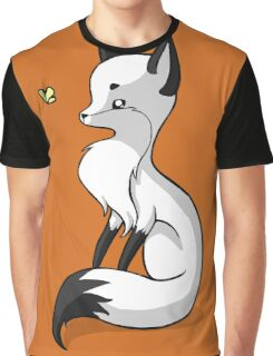Fox and a Butterfly Graphic T-Shirt