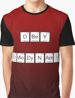 Obey Thermodynamics Graphic T-Shirt