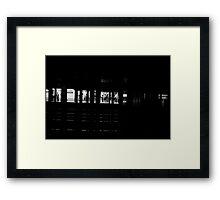 New York Subway Station Framed Print
