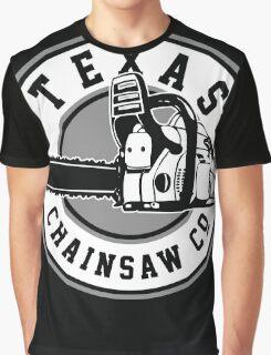 Texas Chain saw Massacre 'Texas Chain saw Company logo'  Graphic T-Shirt