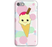 Cute Kawaii Ice Cream Cone iPhone Case/Skin
