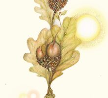 New Growth - Spring by Helena Wilsen - Saunders