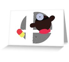Dr. Mario (Kirby Hat) - Sunset Shores Greeting Card