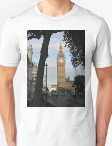 Big Ben Through the Trees T-Shirt