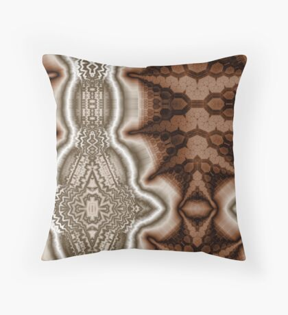Contrasting Values Throw Pillow