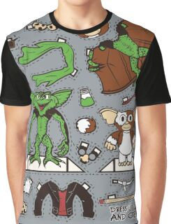 Dress up Gizmo and Gremlin Graphic T-Shirt
