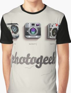 Photogeek Graphic T-Shirt