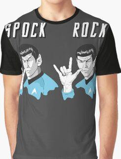 Star Trek Spock Rock Graphic T-Shirt