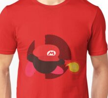Mario (Kirby Hat) - Sunset Shores Unisex T-Shirt