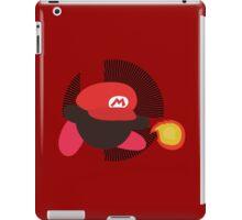 Mario (Kirby Hat) - Sunset Shores iPad Case/Skin