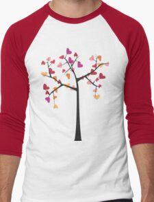 Tree love Men's Baseball ¾ T-Shirt