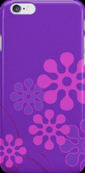 Purple Flowers by Nick Martin