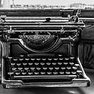 Old Typewriter by Thomas Young