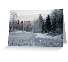 Winter Came Greeting Card