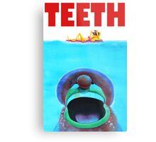 Teeth Parody Metal Print