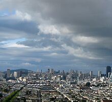 A View of San Francisco by Jane Underwood