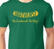 Bratwurst Gold Unisex T-Shirt