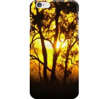 Australian sunrise iPhone Case/Skin