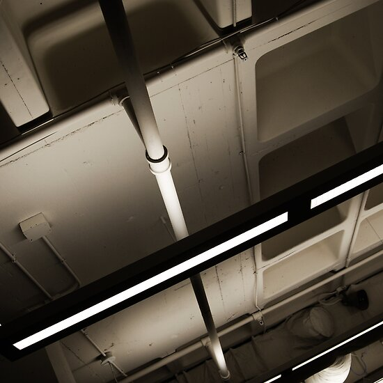 Pipes and Lights by Robert Baker